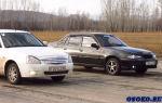 Что лучше – приора или daewoo nexia? бюджетные машины друг против друга
