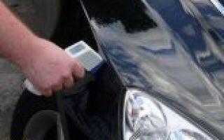 Как пользоваться толщиномером лкп? рассматриваем на примере автомобиля