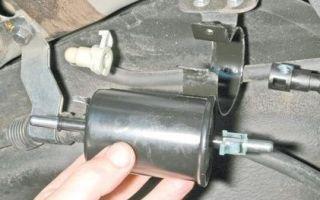 Замена топливного фильтра на chevrolet lacetti. то, что важно знать