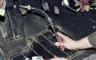 Провалилась педаль сцепления на ВАЗ 2110 – легко решаемо