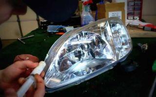 Какой герметик для вклейки стекол фар автомобиля лучше? обзор вопроса