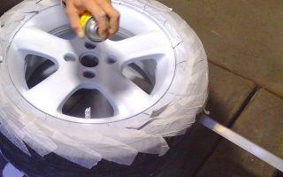 Как покрасить литой диск? практичные способы