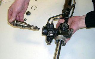 Рассматриваем устройство рулевой рейки с гидроусилителем, а также ее основные неисправности