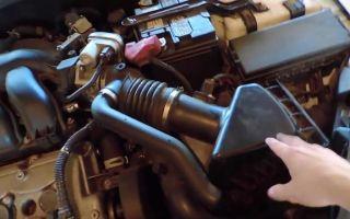 Процедура замены воздушного фильтра на Ford Fusion – не плати СТО