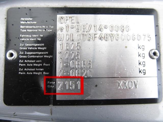 Как узнать номер краски автомобиля по vin коду? Подбираем заводской оттенок