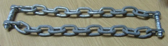 Как сделать цепи противоскольжения на колеса (браслеты) своими руками? Обзор