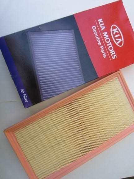 Замена топливного фильтра на kia spectra своими руками