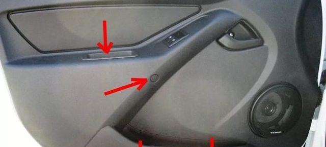 Как снять обшивку двери на гранте? 2 способа