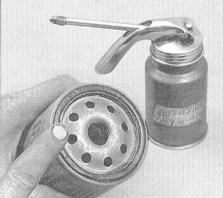 Замена масляного фильтра без замены масла. Чистое то