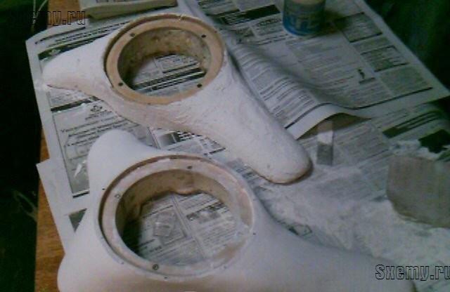 Как сделать подиумы для динамиков своими руками? Правильный handmade