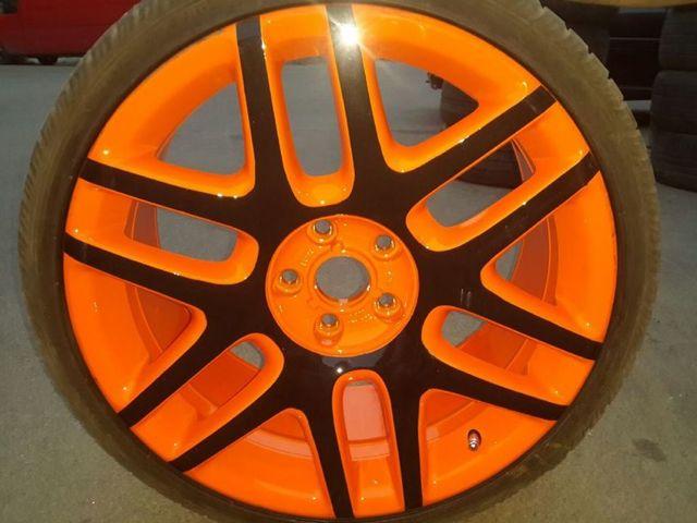 Покраска дисков из баллончика своими руками. Пошагово с комментарием каждого шага