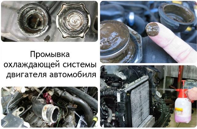 Последствия промывки системы охлаждения двигателя кока-колой. Стоит ли?