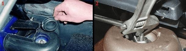 Замена задних стоек на ваз 2109 и 21099. Тазы разваливаются