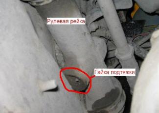 Как подтянуть рулевую рейку на ваз 2114? Практичные способы