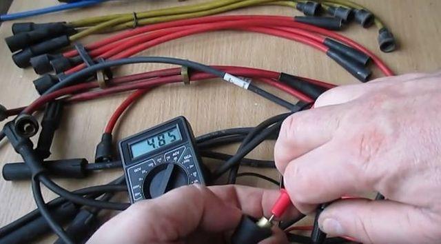 Все о проверке высоковольтных проводов зажигания мультиметром. Как это делать правильно