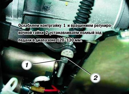 Регулировка сцепления на ваз 2110 и 2112. В принципе, ничего сложного