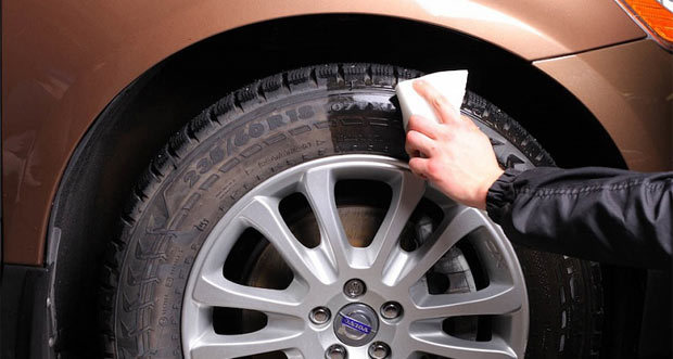 Как сделать чернитель шин (резины) своими руками? Популярные ответы