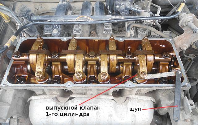 Регулировка клапанов renault logan 1.6 (8 клапанов). Результат без ошибок