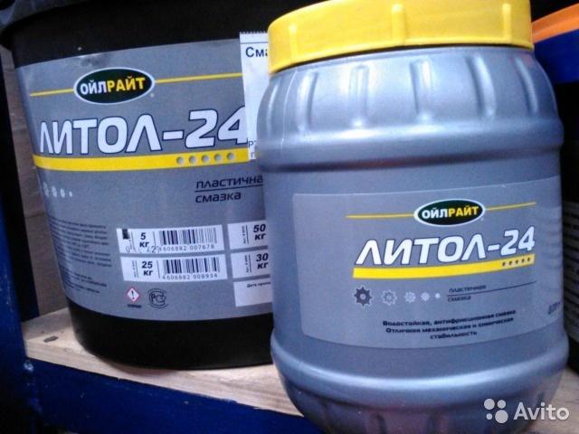Характеристики и применение литол 24. Подробно и по фактам