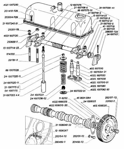 Как отрегулировать клапана на 402 двигателе газели? А куда деваться?