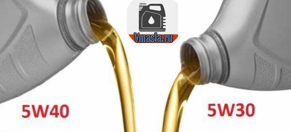 Какое масло лучше, 5w30 или 5w40, и в чем разница и отличия между ними? Подбираем и выбираем лучший вариант