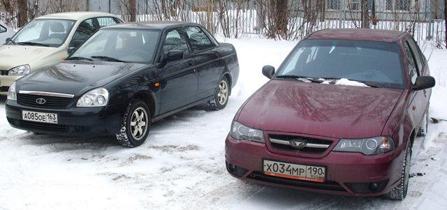 Что лучше - приора или daewoo nexia? Бюджетные машины друг против друга