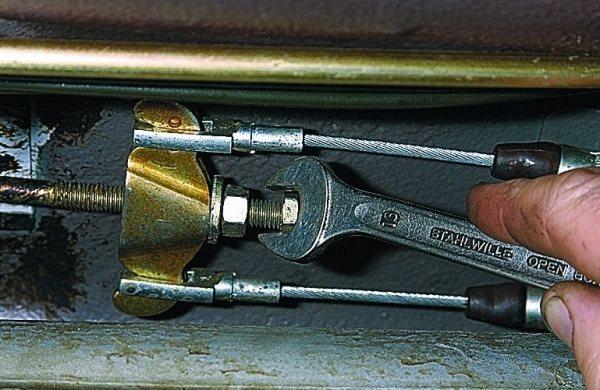 Замена троса ручника на ваз 2109 и 2110. Обойдемся без сто