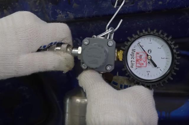 Промывка форсунок без снятия с двигателя. Есть и такой способ