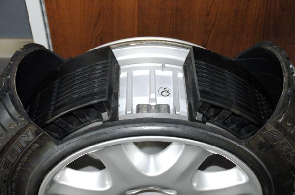 Что значит run flat на шинах? Разбираемся в технологии