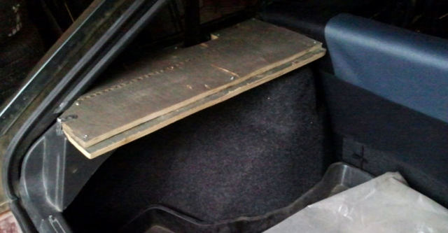 Делаем полку в багажник своими руками. Увеличиваем полезное пространство в машине