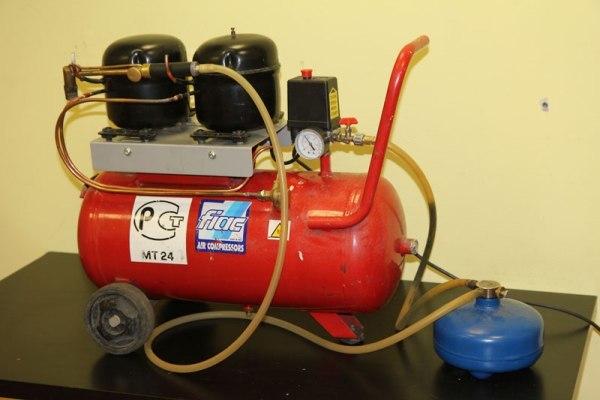 Как сделать самодельный компрессор для покраски авто? Дела гаражные
