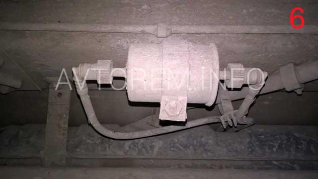 Заменяем топливный фильтр на ваз 2114 и 2115. Все шаги от и до