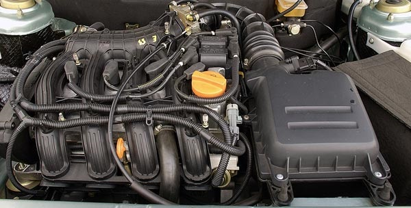 Установка 16 клапанного двигателя на классику (2107). Когда хочется тюнинга
