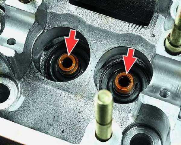 Замена маслосъемных колпачков на ваз 2106 и 2107. Учимся чинить сами