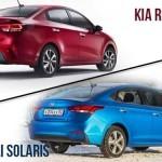 Что лучше - kia rio или hyundai solaris? Сравниваем корейский автопром
