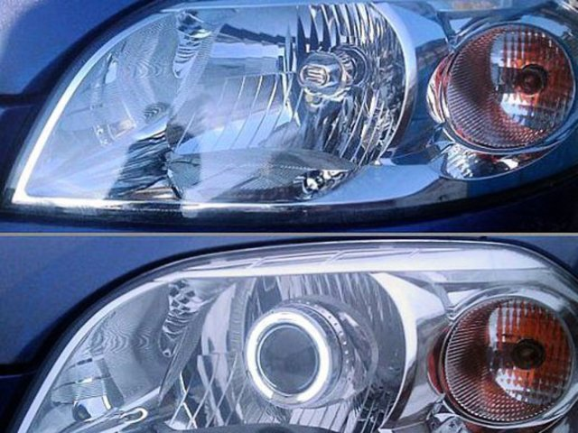 Как почистить линзы в фарах? Больше света на дороге