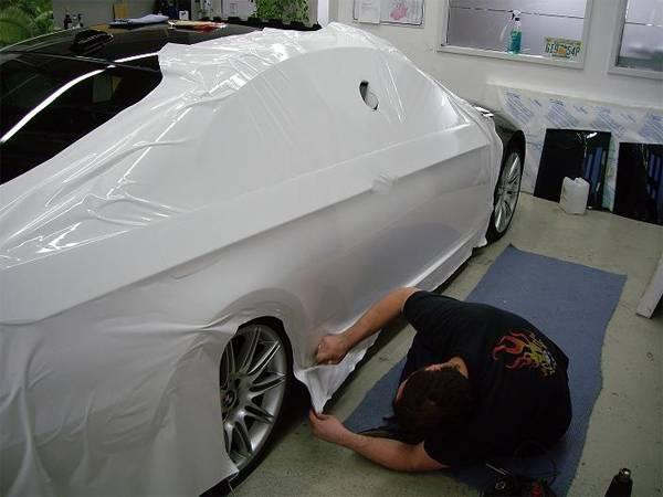 Покраска пластика автомобиля своими руками. Разумная экономия