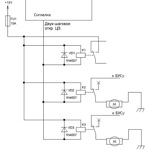 Точки подключения сигнализации на приоре. Правильная установка сигнализации