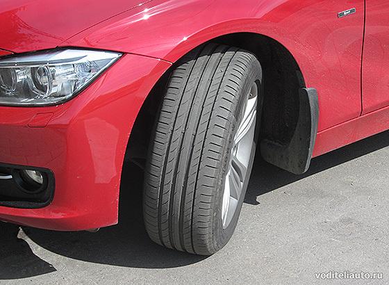Какая должна быть высота протектора новых шин?