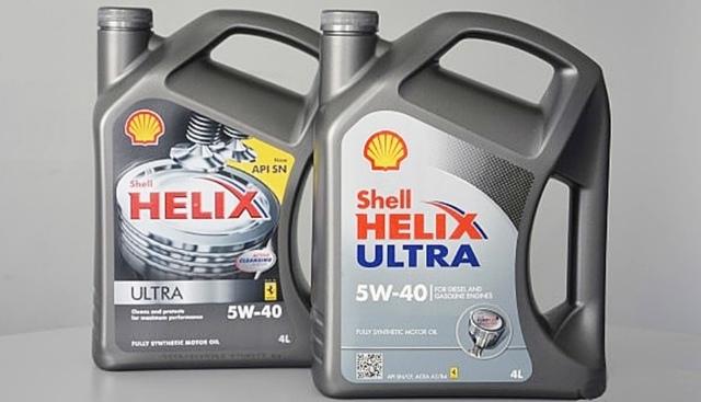 Как отличить подделку масла shell helix ultra 5w40? Обращаем внимание на следующие признаки