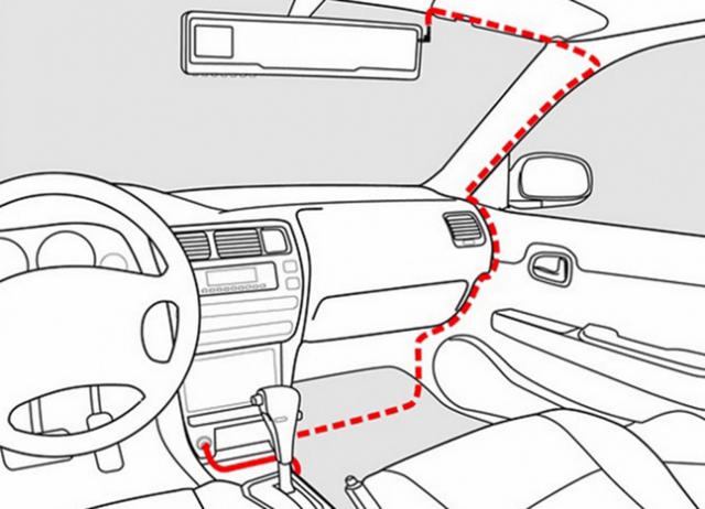 Как подключить видеорегистратор в машине без прикуривателя? Несколько способов