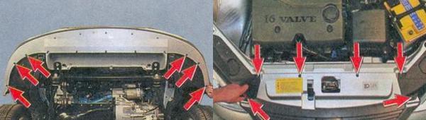 Как снять передний бампер на приоре?