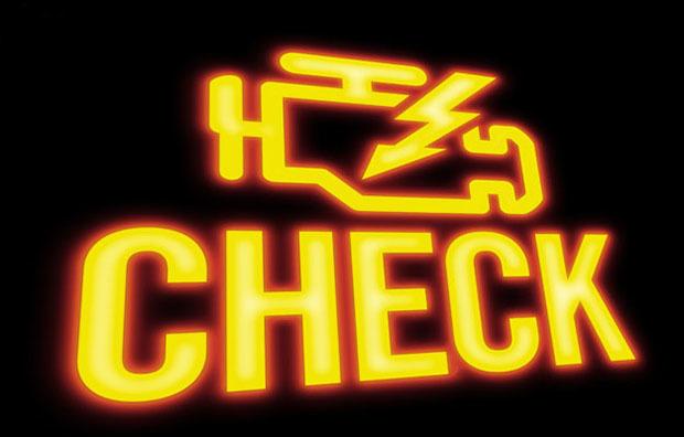 Почему не горит чек при включении зажигания? Причины проблемы