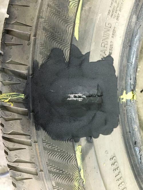Ремонт боковых порезов шин горячей вулканизацией. Учимся на примерах
