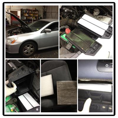 Где находится салонный фильтр в машине? Места и обзор
