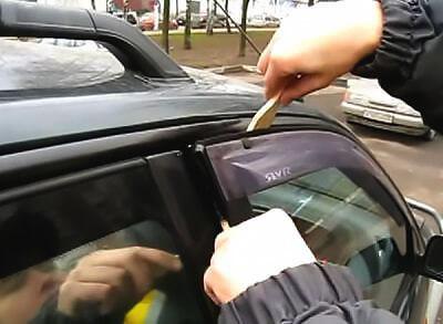 Что делать и как открыть машину, если она закрылась, а ключи остались внутри?