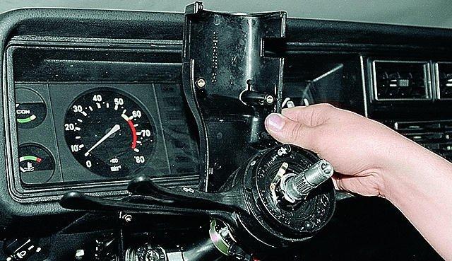 Как снять руль на ваз 2107? Отечественный конструктор