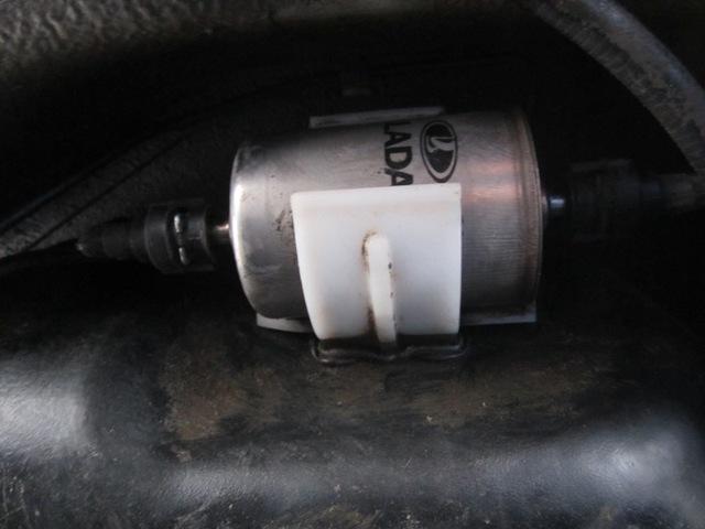Замена топливного фильтра на лада гранта. Ничего сложного