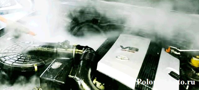 Мойка двигателем паром. Плюсы и минусы сухой мойки. Стоит ли оно того?