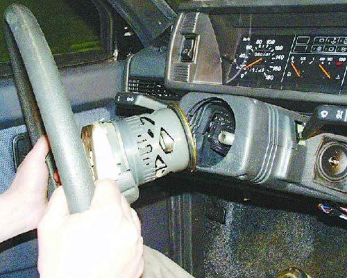 Как снять руль на ваз 2109? Инструкция с комментариями